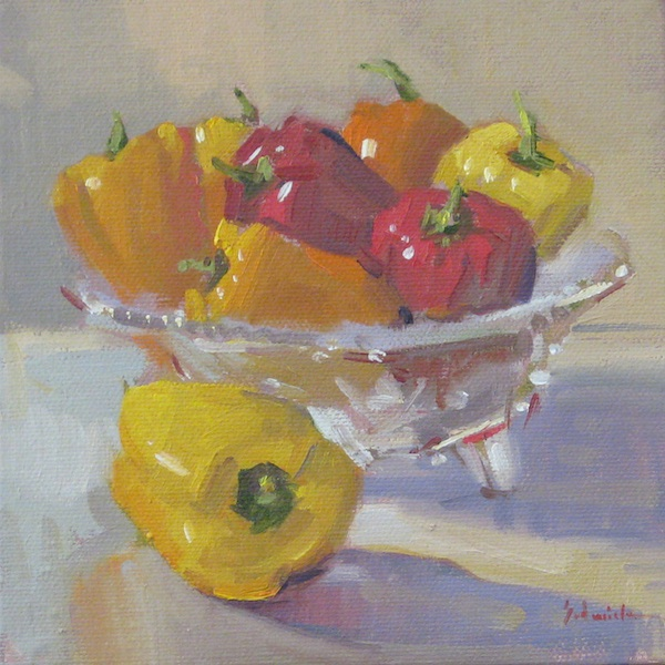 """Little Peppers"" original fine art by Sarah Sedwick"