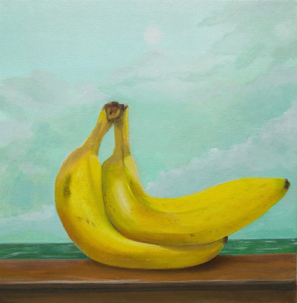 """""""B Bananas"""" original fine art by Karen Stitt"""