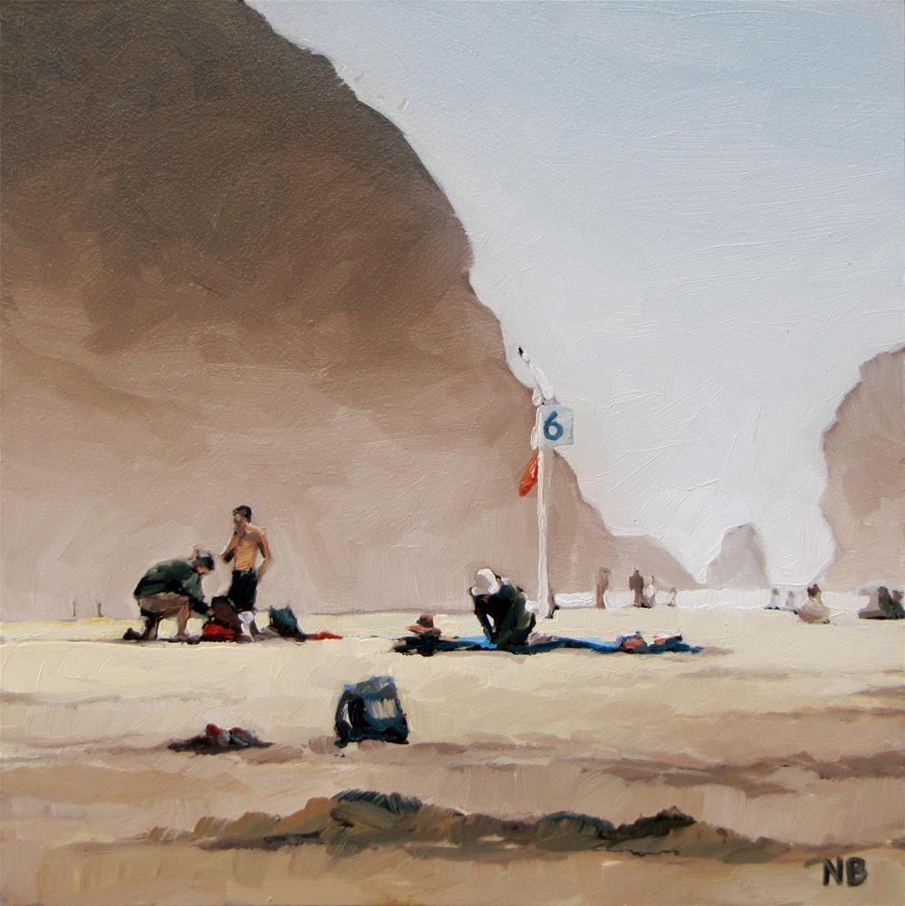 """""""Haystack Six"""" original fine art by Nora Bergman"""