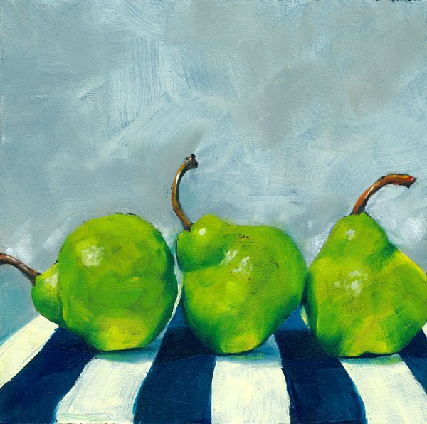"""Three's a Crowd"" original fine art by Brenda Ferguson"