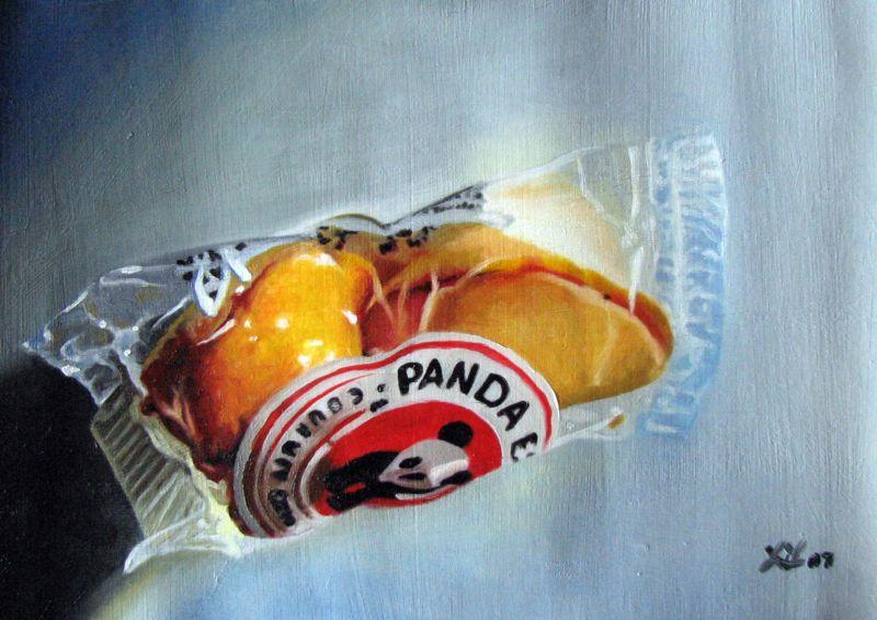 """""""Fortune Cookie"""" original fine art by Lauren Pretorius"""