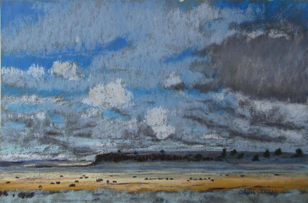 """""""towards diamond"""" original fine art by Mary Davies Kerns"""