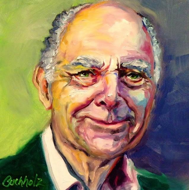 """""""The Irishman"""" original fine art by Terri Buchholz"""