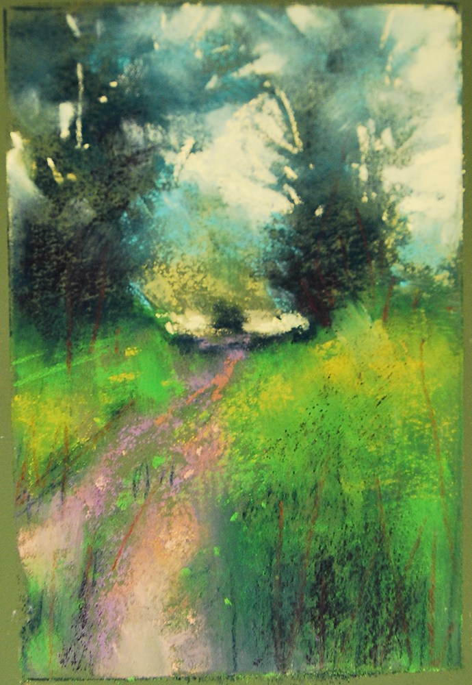 """Small Wonders"" original fine art by Marla Baggetta"