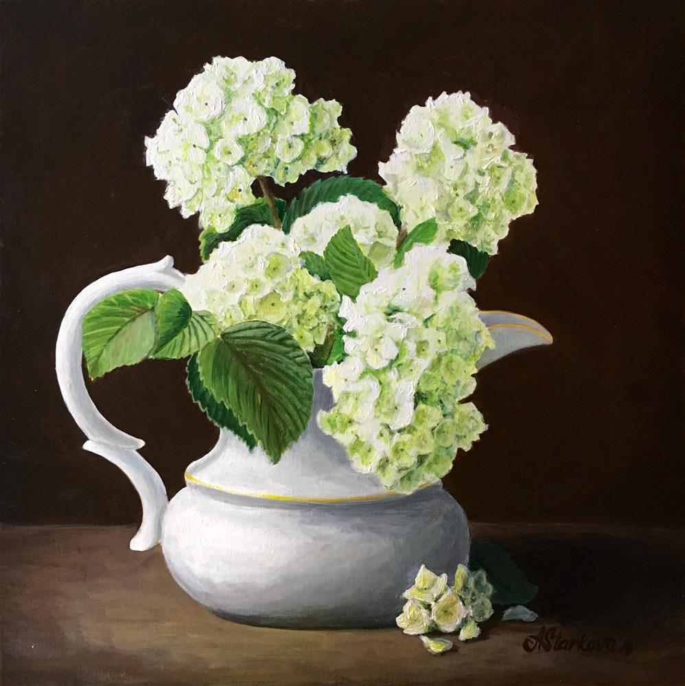 """Poetry of flowers"" original fine art by Anna Starkova"