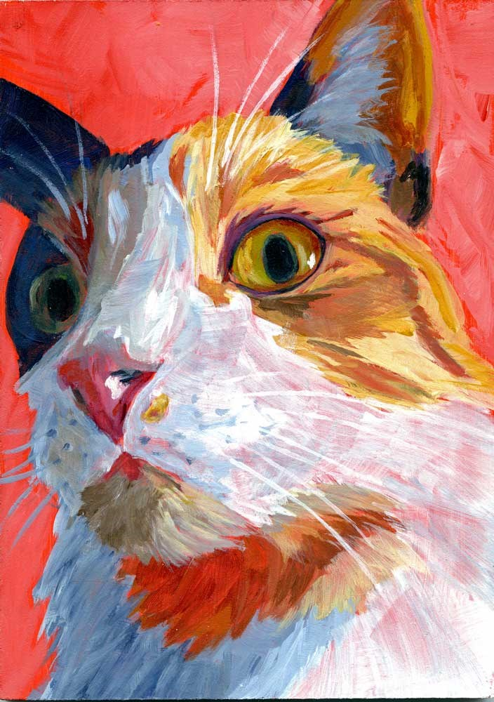 """Shelby"" original fine art by Eileen Hennemann"