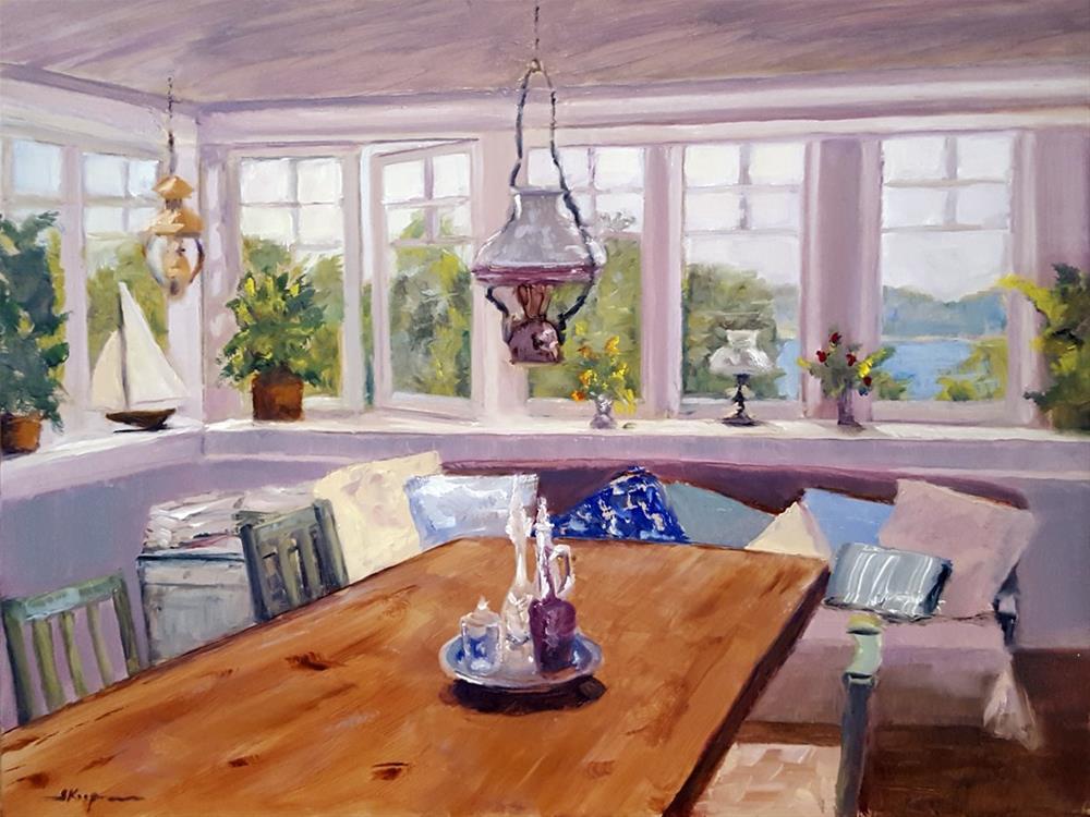 """Room with a Lake View"" original fine art by Shelley Koopmann"