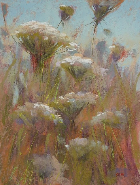 """Everything You Ever  Wanted to Know About Pastel Surfaces"" original fine art by Karen Margulis"
