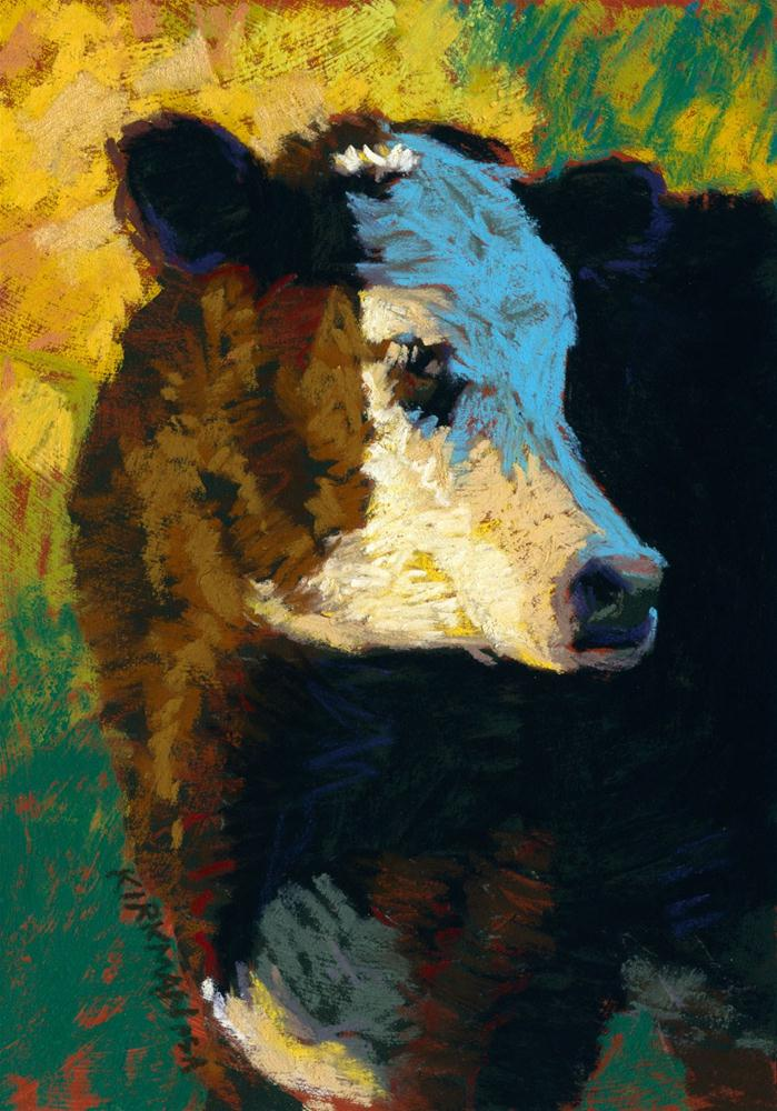 """Fuzzy"" original fine art by Rita Kirkman"