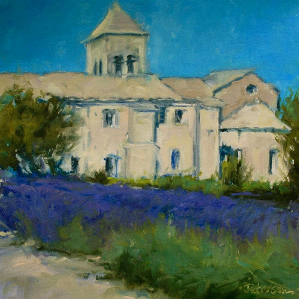 """""""Provence - Saint-Paul de Mausole"""" original fine art by Jane Robertson"""