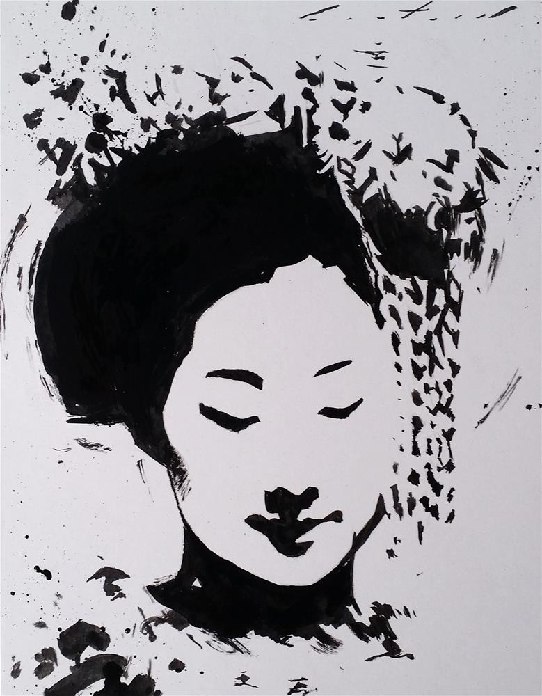 """Toshiemi"" original fine art by Phil Couture"
