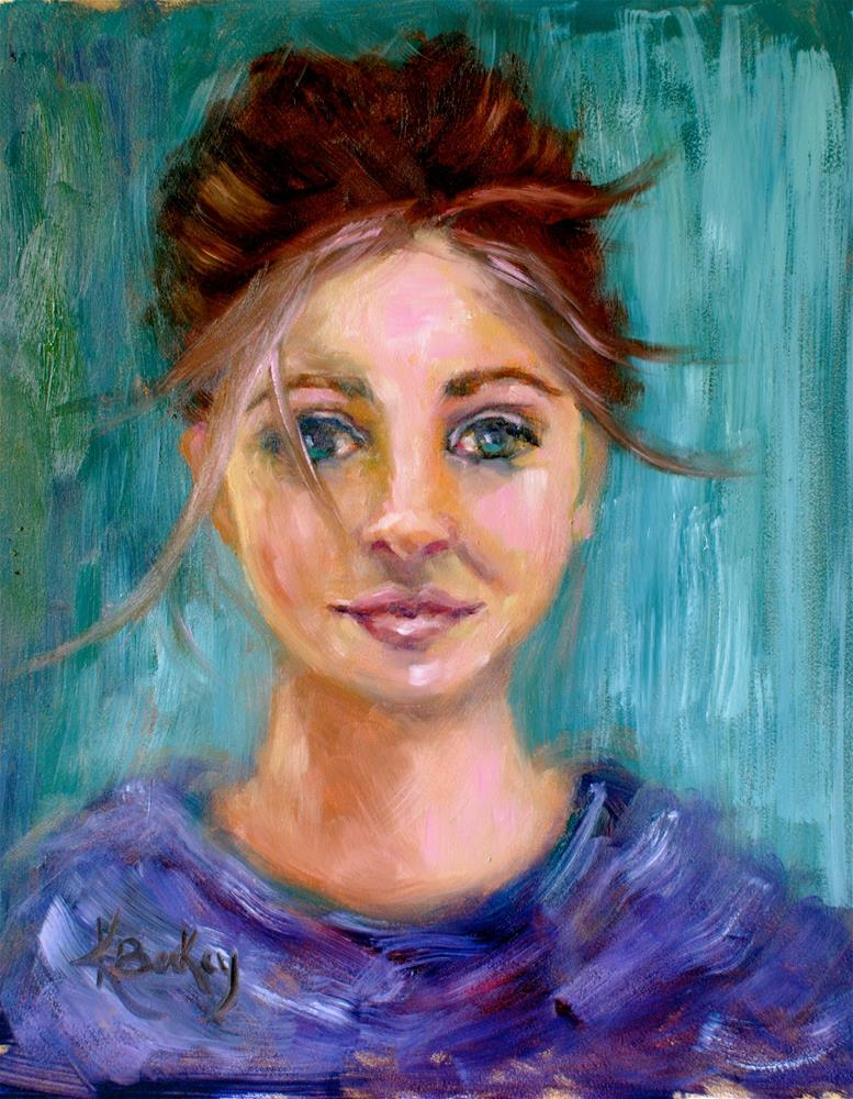 """""""Wind Swept"""" original fine art by Kelly Berkey"""