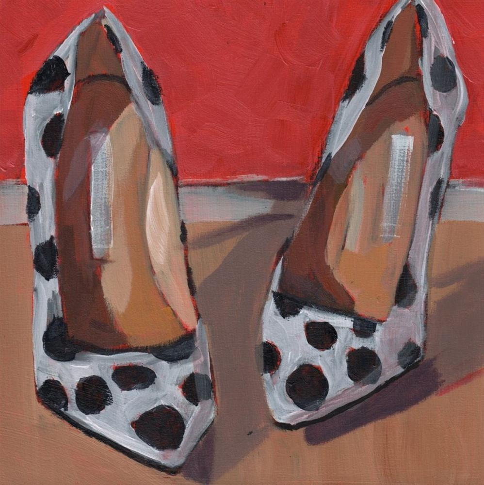 """Walk on By (#374)"" original fine art by Debbie Miller"