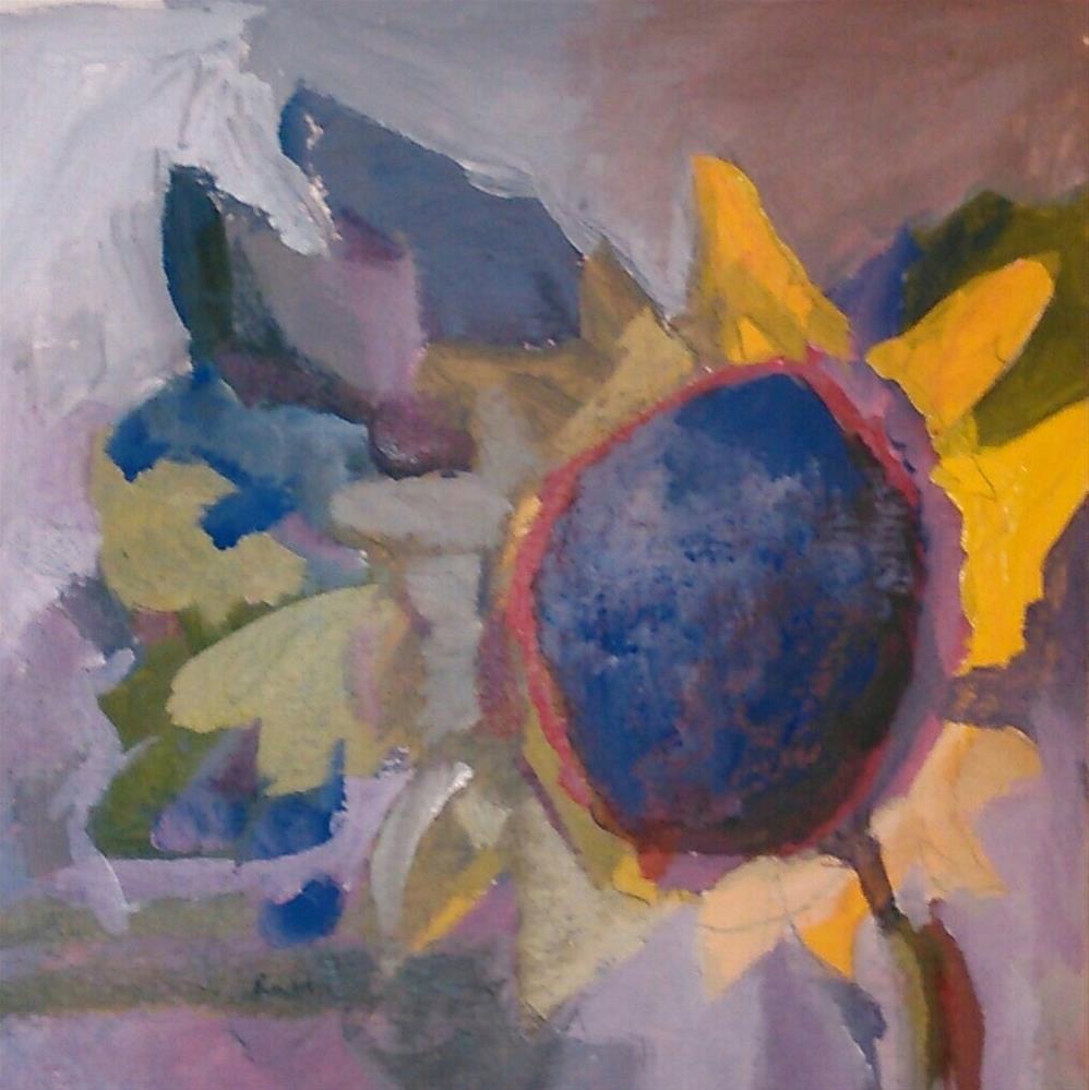 """Midnight Sun"" original fine art by Ann Rudd"