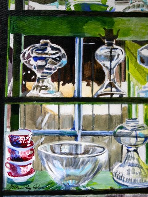 """Oil Lamps"" original fine art by JoAnne Perez Robinson"
