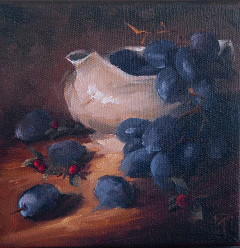 """Sweet Cream"" original fine art by Lori Twiggs"