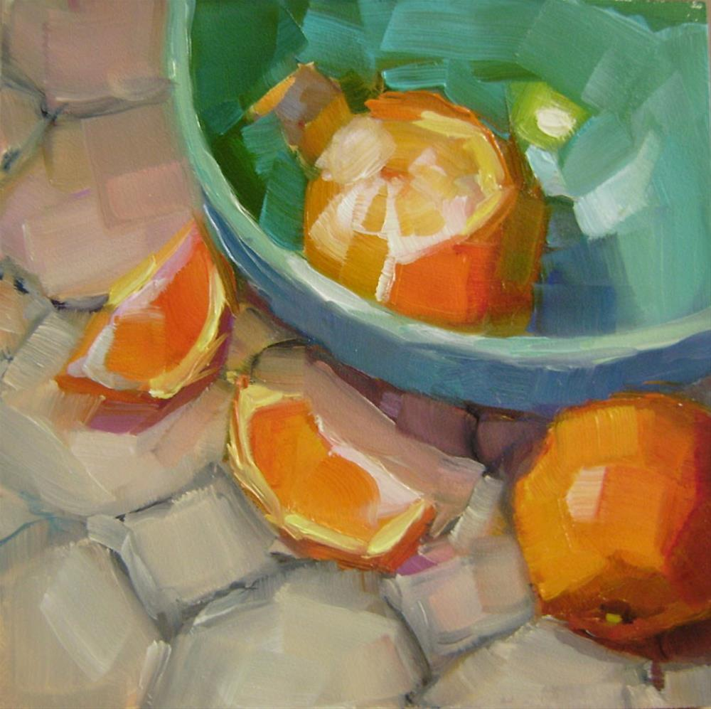 """Clementines"" original fine art by Holly Storlie"
