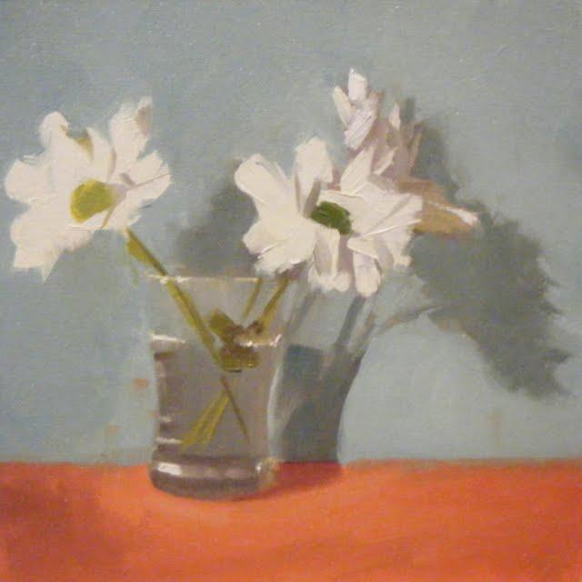 """WHITE LIGHTS"" original fine art by Helen Cooper"