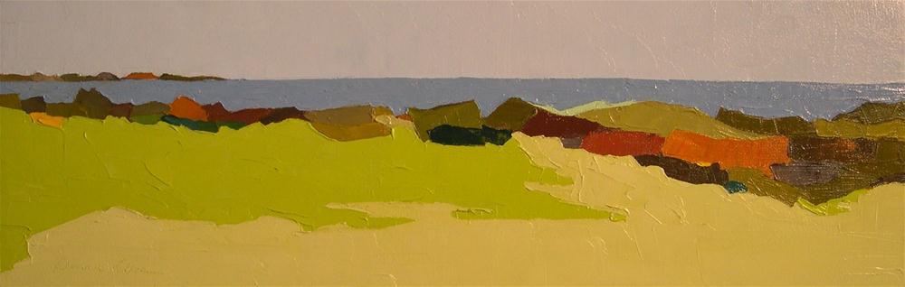 """""""Seaview II"""" original fine art by Donna Walker"""