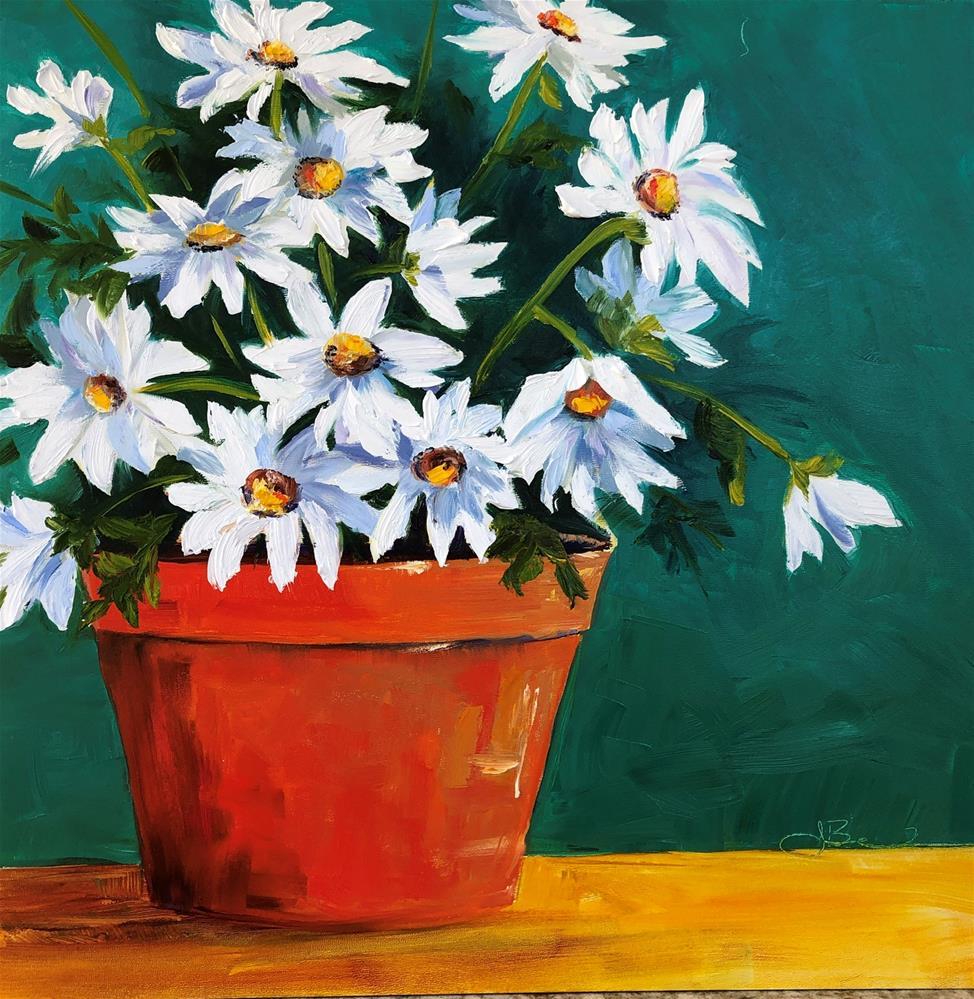 """""""Simplicity """" original fine art by Jenny Be"""