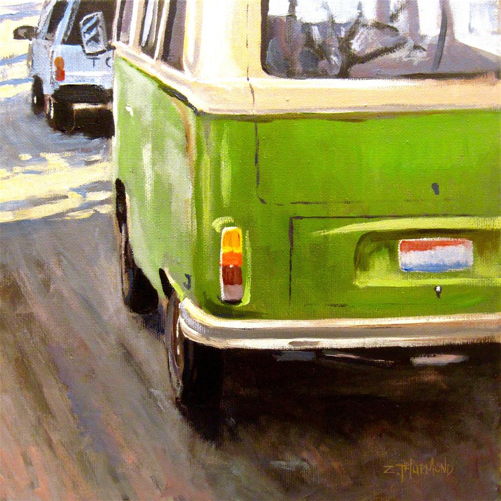 """Imports"" original fine art by Zack Thurmond"