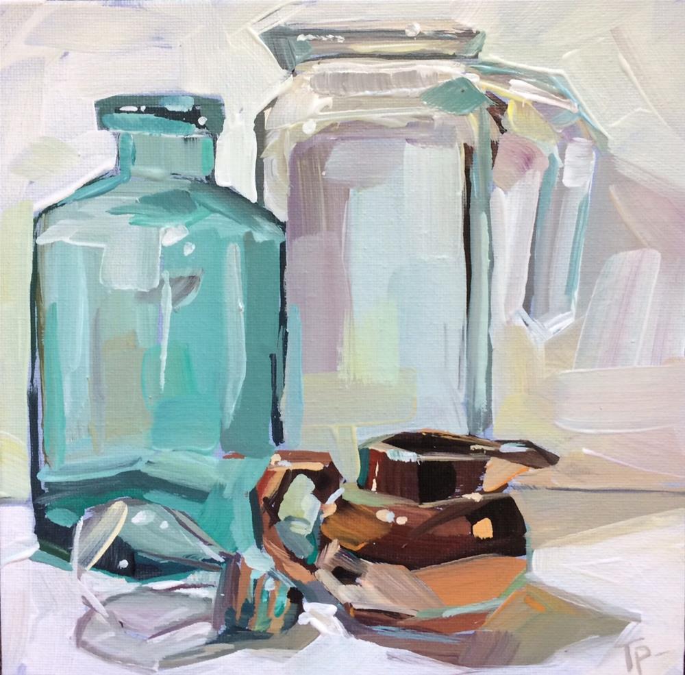 """Layers of Glass"" original fine art by Teddi Parker"