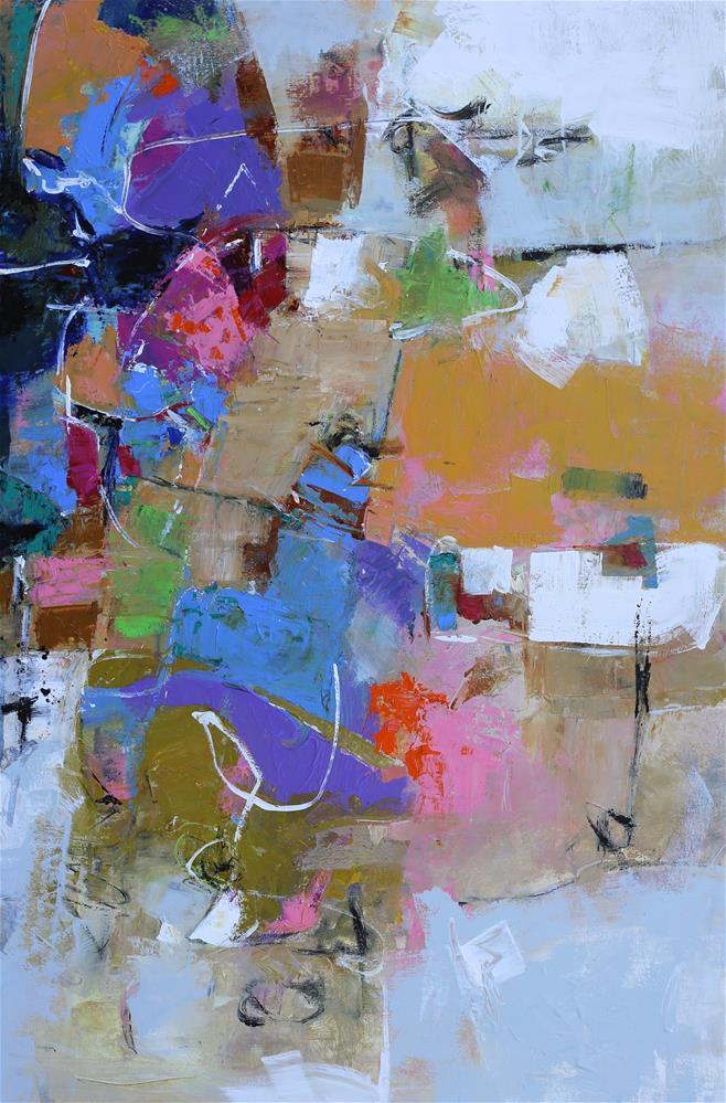 """""""Eutaxy"""" original fine art by Elizabeth Chapman"""