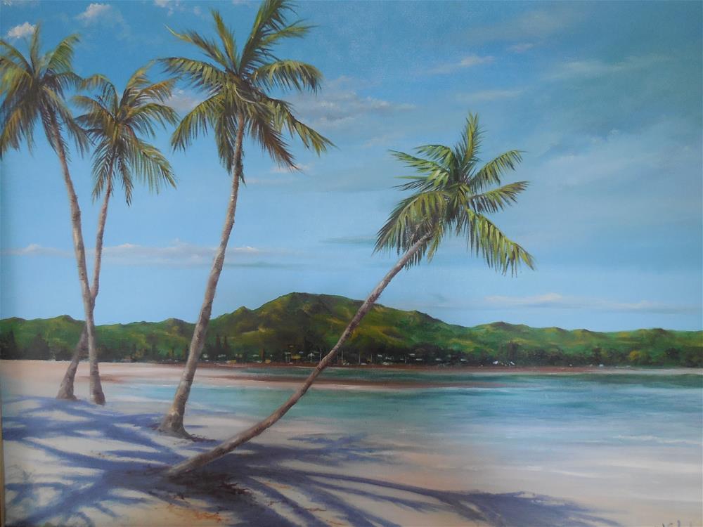 """Blue Hawaii"" original fine art by Terri Nicholson"
