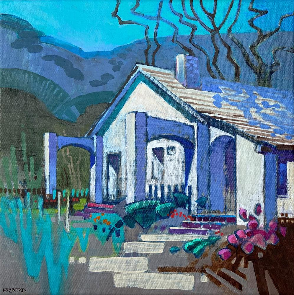 """Welcome Home, Alviso Adobe"" original fine art by Nancy Roberts"