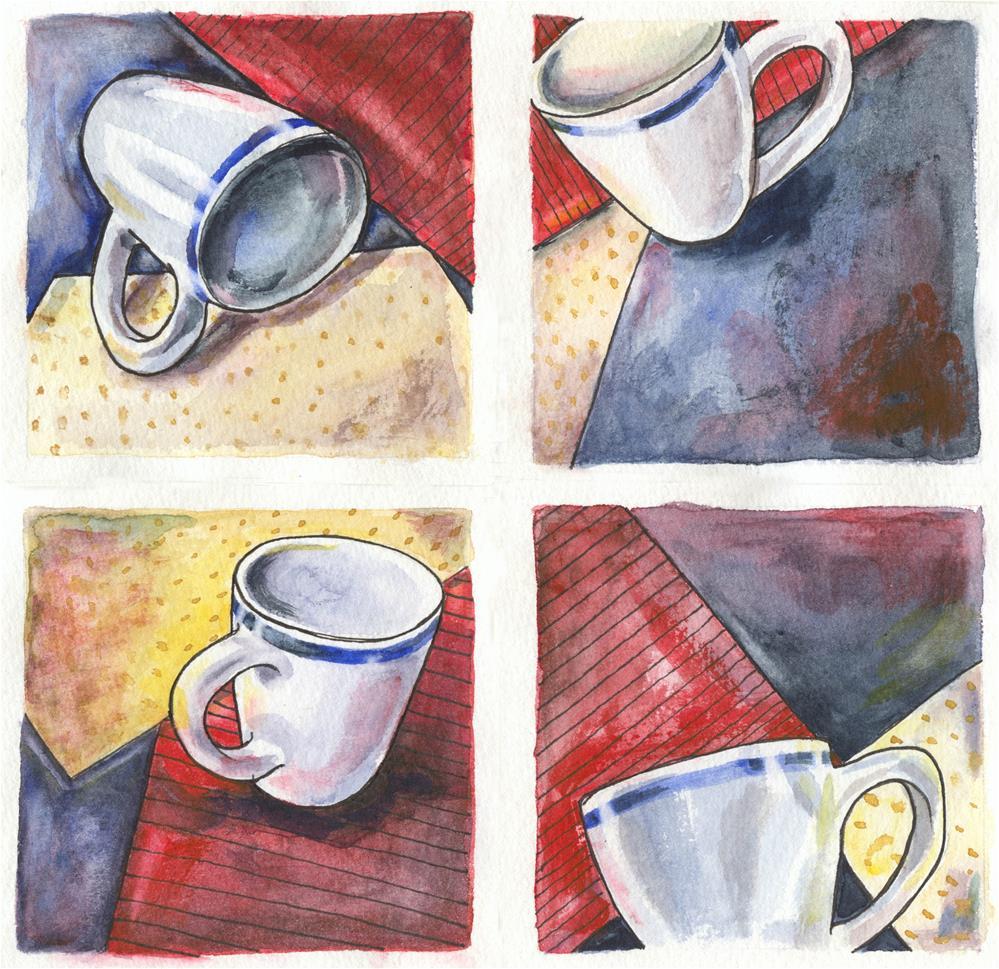 """Favorite Mug"" original fine art by Geri Graley"