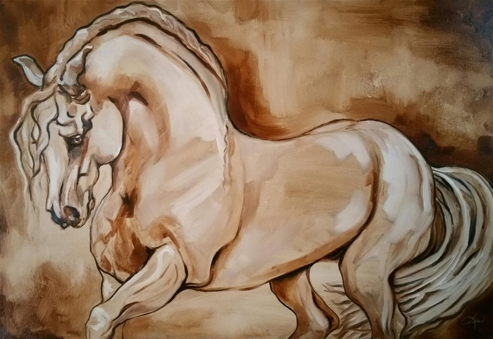 """Classic"" original fine art by Leni Tarleton"
