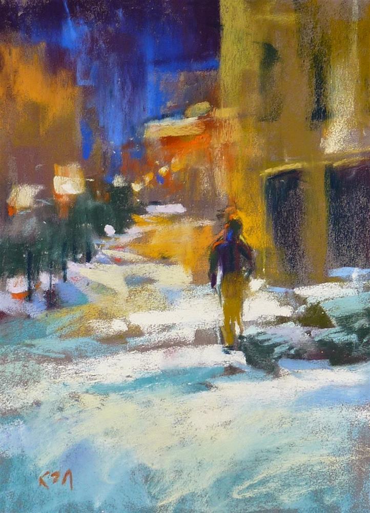 """Why Do You Paint?"" original fine art by Karen Margulis"