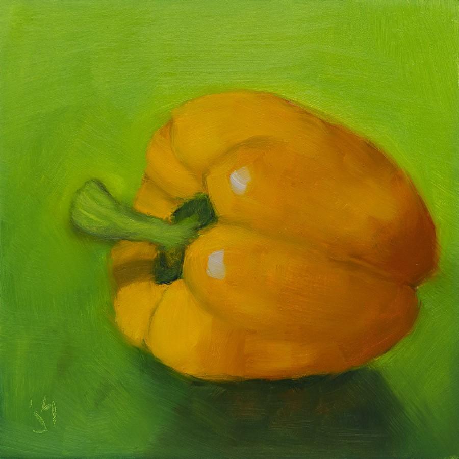 """""""Summer Salad"""" original fine art by Johnna Schelling"""