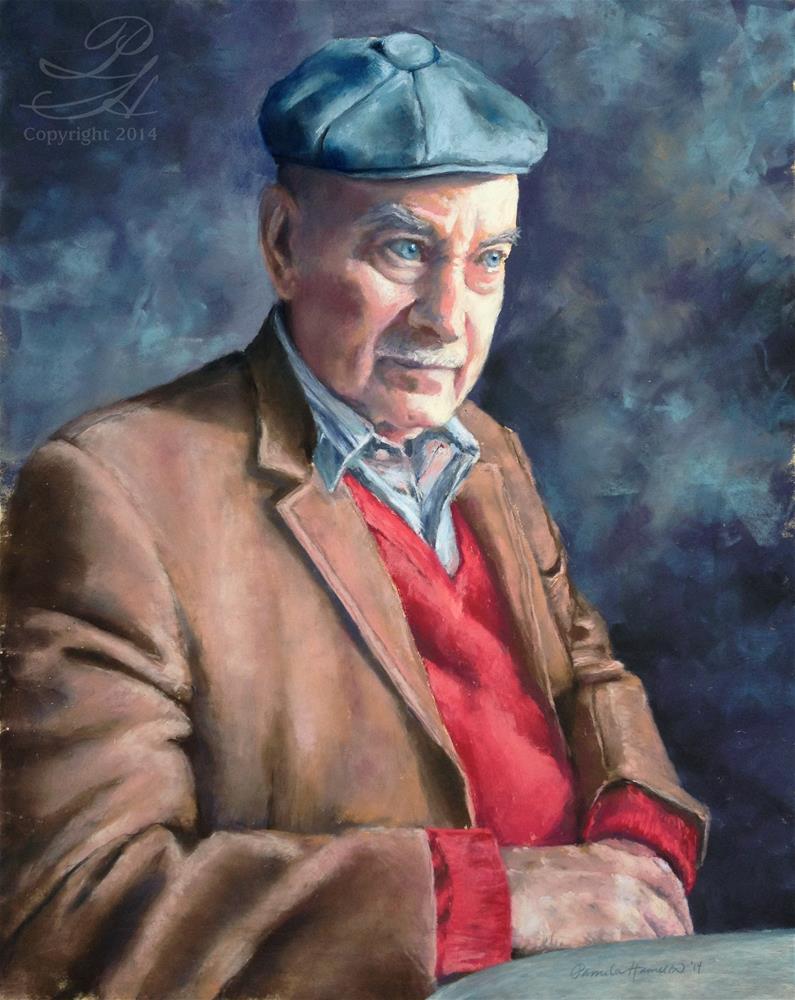 """""""Le Grand-père"""" original fine art by Pamela Hamilton"""