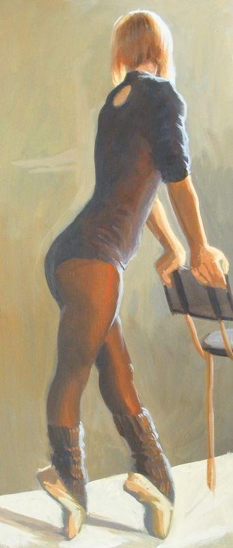 """dance costume"" original fine art by Peter Orrock"