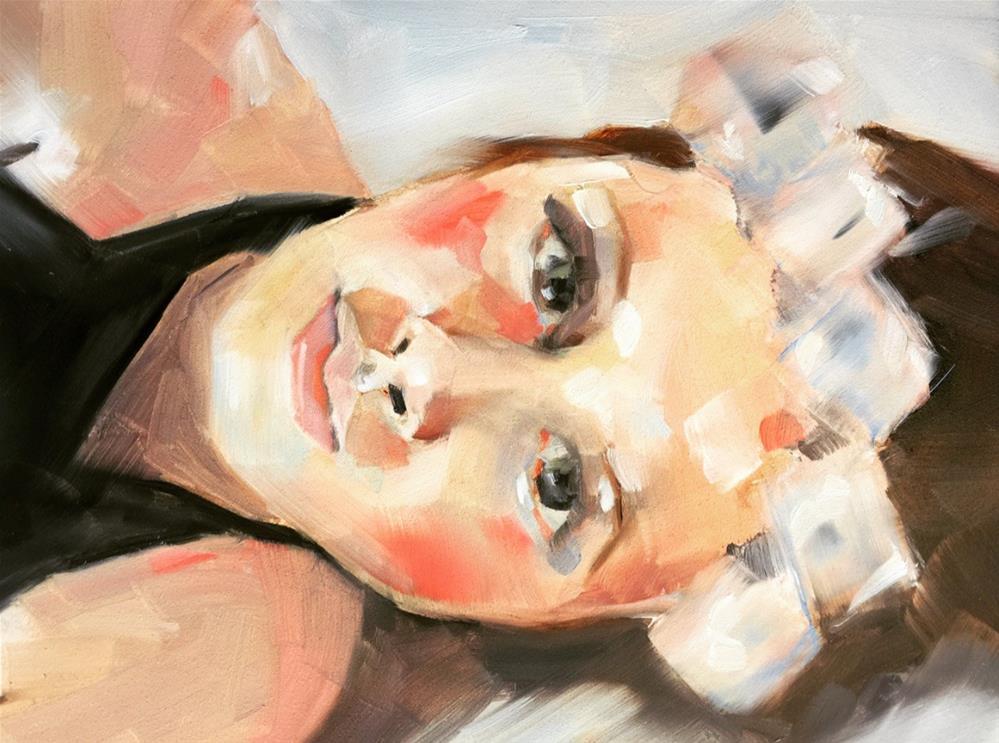 """526 Sideways"" original fine art by Jenny Doh"