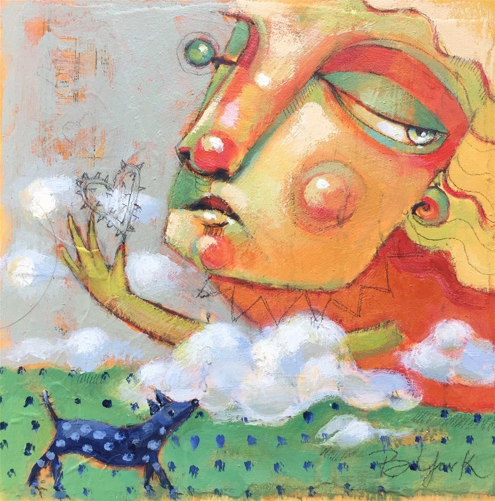 """Fool For Love Songs"" original fine art by Brenda York"