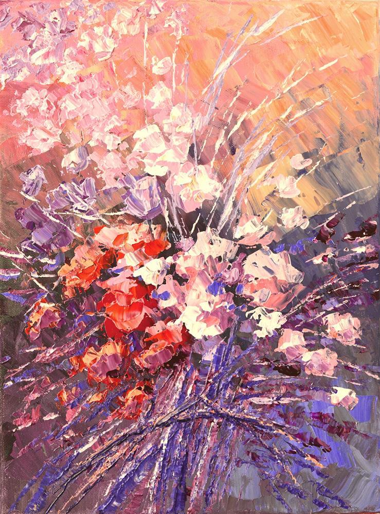 """Lyric Wishes"" original fine art by Tatiana Iliina"