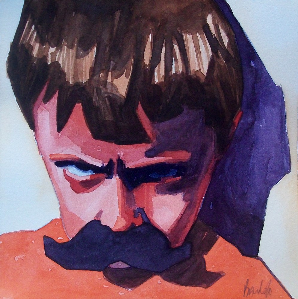 """Grumpy"" original fine art by Brandi Bowman"