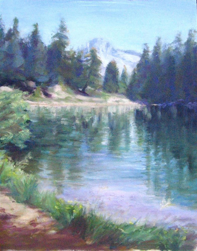 """Hiker's Prize"" original fine art by Cynthia Mahlberg"
