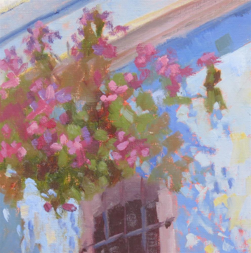 """""""Front Wall"""" original fine art by Pam Holnback"""