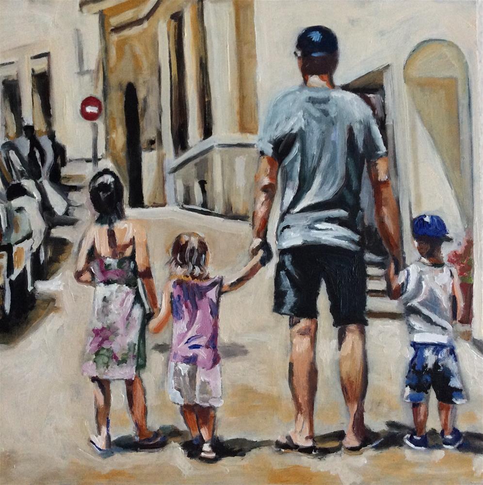 """Family"" original fine art by Sonja Neumann"