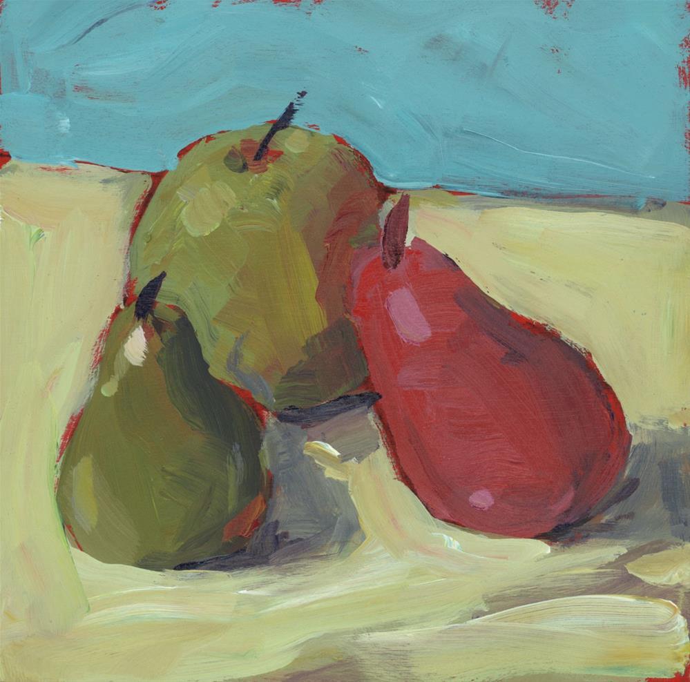 """1248: Three Little Friends"" original fine art by Brian Miller"
