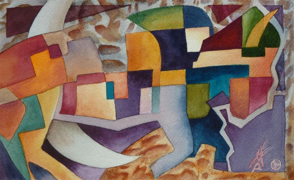 """Buffalo Moon"" original fine art by Mark Allison"