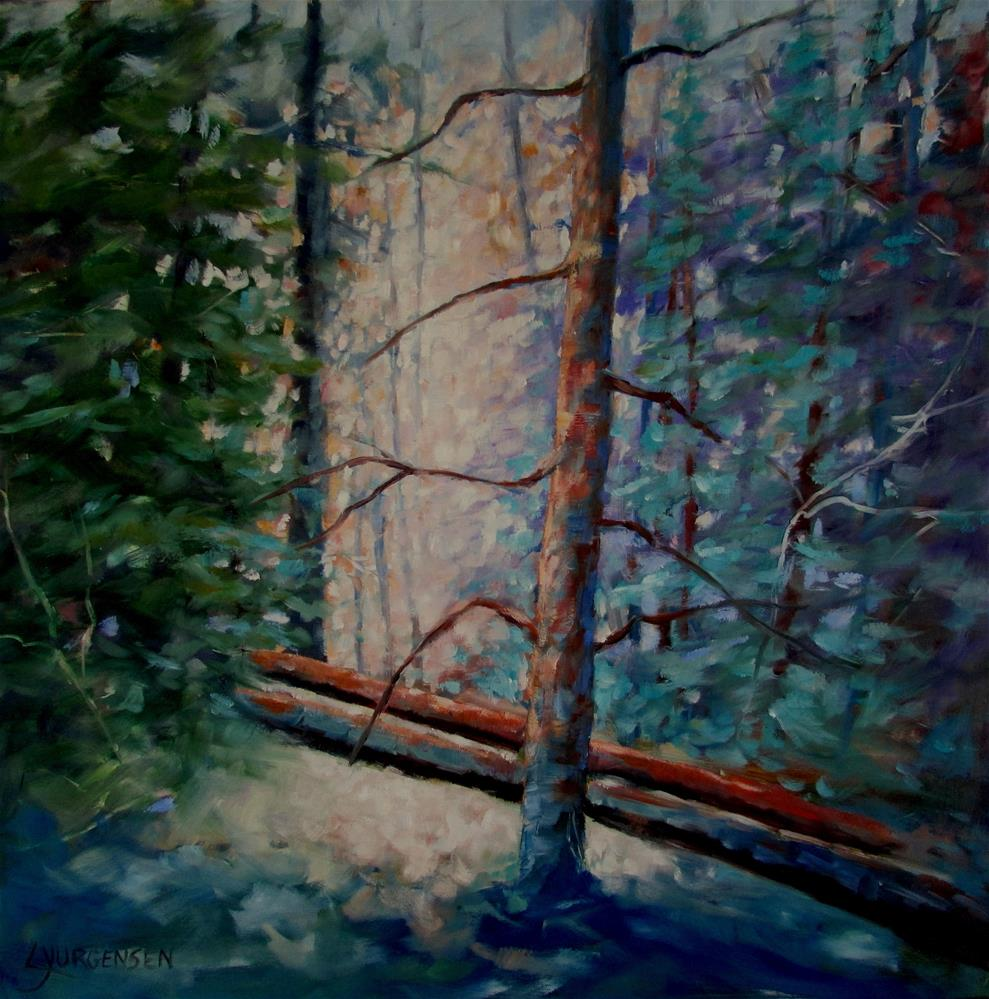 """24 x 24 inch oil"" original fine art by Linda Yurgensen"