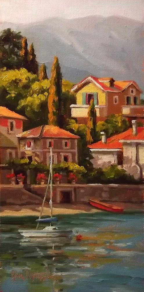 """Italian Terraces"" original fine art by Erin Dertner"