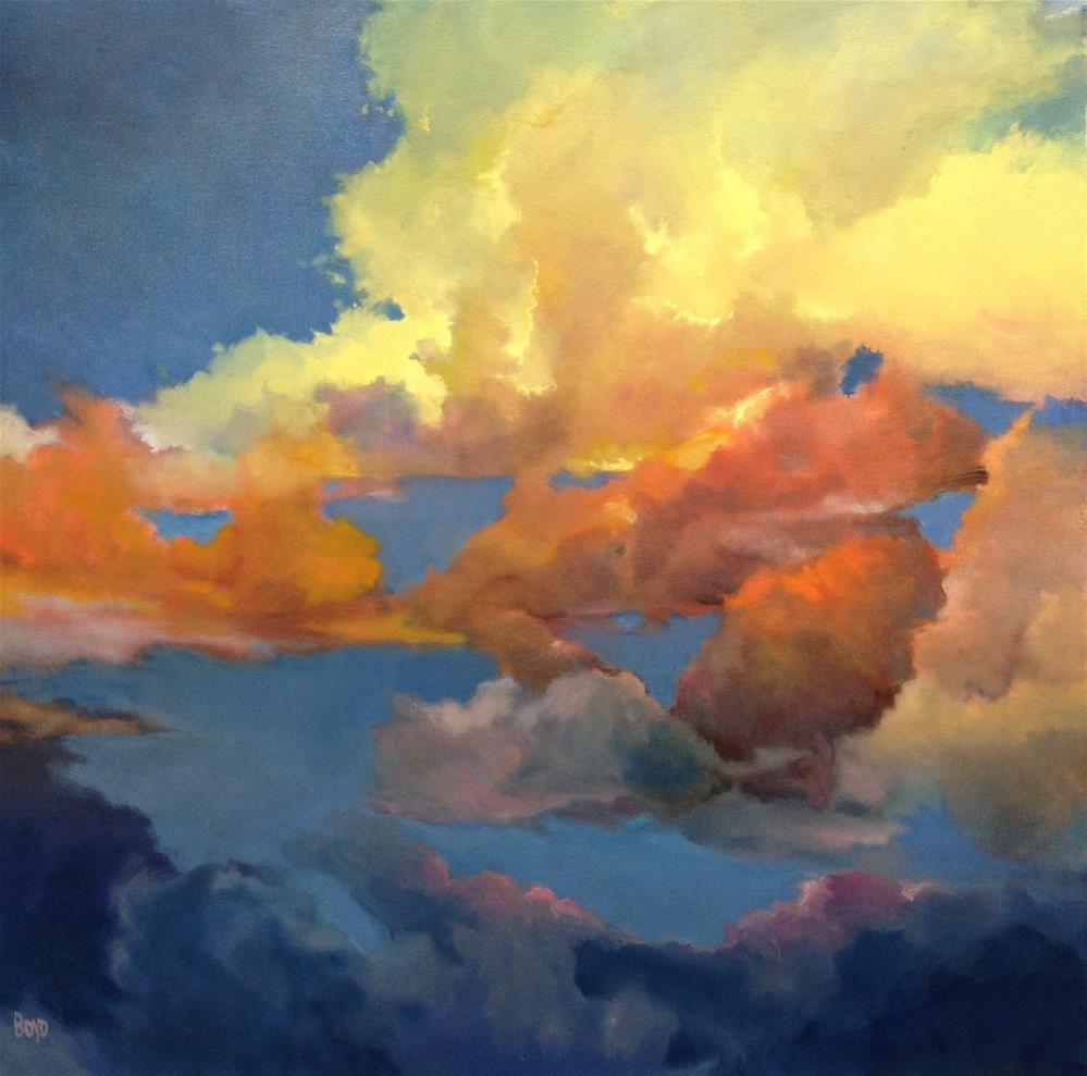 """""""Fantastical"""" original fine art by Cathy Boyd"""
