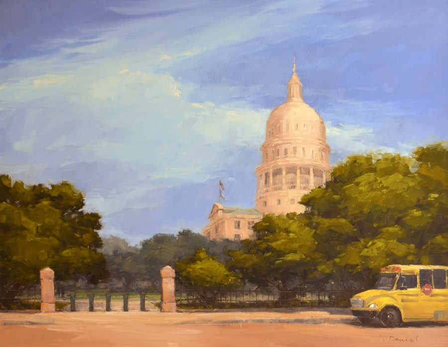 """Second of Three Commission Paintings for New Medical Center"" original fine art by Laurel Daniel"