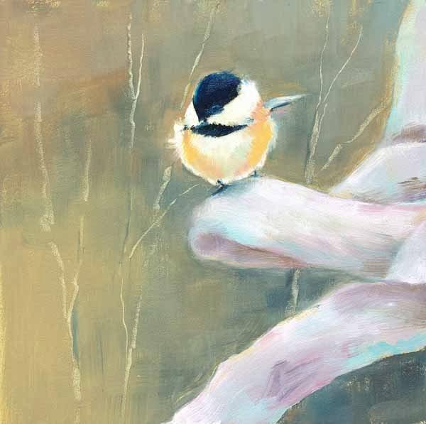 """Waiting My Turn"" original fine art by Brenda Ferguson"