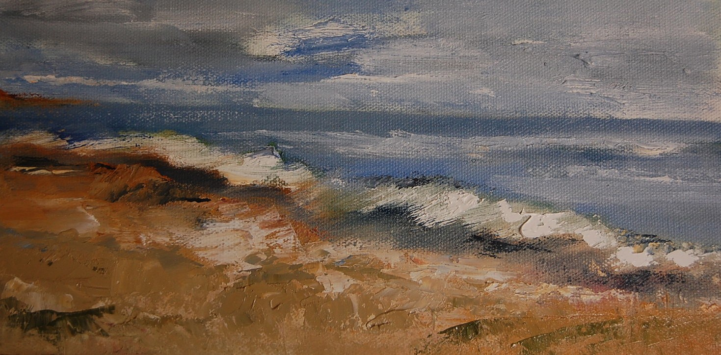 """Before the Storm"" original fine art by Deborah Harold"